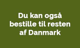 Vi leverer blomster til hele Danmark