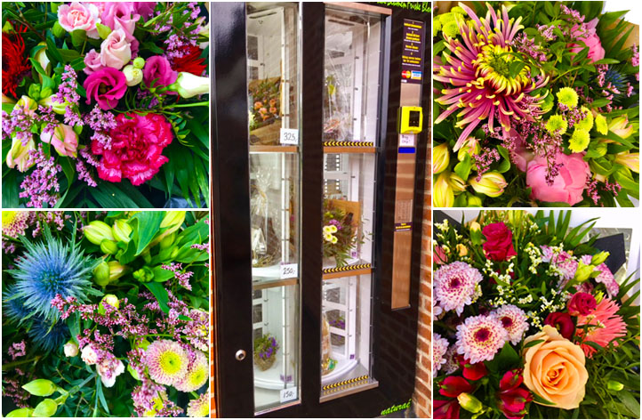 automat blomster