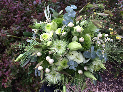 Bryllup - Blomst og Gren